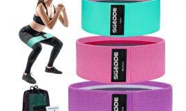 3 bandas de resistencia para fitness, yoga, pilates sin látex por 7,99€.