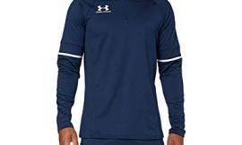 Under Armour Challenger III Midlayer, Camiseta de Hombre para Hacer Deporte, indispensable Ropa de Deportes Hombre, Azul (Academy/Halo Gray/Halo Gray (408)), 2XL