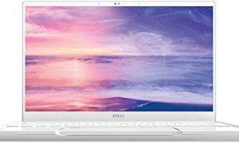 MSI Prestige 14 A10SC-067XES – Ordenador portátil de 14″ FullHD (Intel Core i7-10710U, 16GB RAM, 1TB SSD, Nvidia GTX1650-4GB, sin sistema operativo) blanco – Teclado QWERTY Español