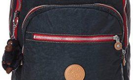 Kipling CLAS SEOUL Mochila escolar, 45 cm, 25 litros, Azul (True Navy C)