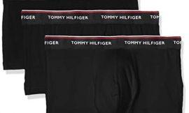 Tommy Hilfiger 3p Lr Trunk Boxer, Negro (Black 990), M (Pack de 3) para Hombre
