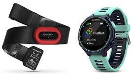 Garmin Forerunner 735XT Pack de Reloj Multisport, Unisex Adulto