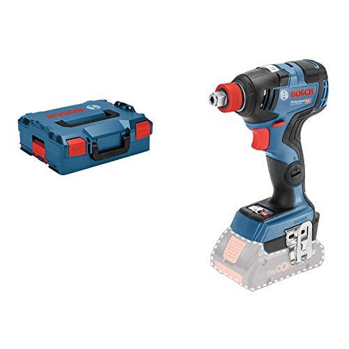 Bosch Professional GDX 18V-200 C – Llave de impacto a batería (18V, 200 Nm, conectable, sin batería, en L-BOXX)