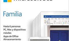 Microsoft 365 Familia | Suscripción anual o mensual | Para 6 PCs o Macs