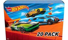 Hot Wheels – Pack De 20 Vehículos con Embalaje de Cartón, Coches de Juguete (Modelos)