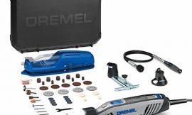 Dremel 4300 – Multiherramienta con kit con 3 complementos, 45 Accesorios