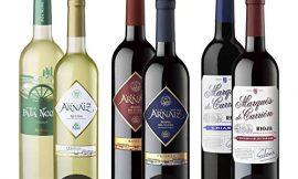 Estuche de D.O 3 Erres Surtido de 6 Vinos con D.O Rueda, D.O Ribera del Duero y D.O Rioja – Pack de 6 Botellas x 750 ml
