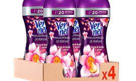 Vernel Supreme Pearls potenciador de perfume para la ropa Magic Affair – Pack de 4