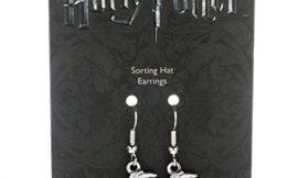 HARRY POTTER Pendientes Sorting Hat, cincado