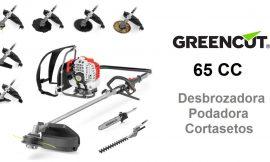 ¡Chollo! Herramienta multifunción de jardín 9 en 1 Greencut GM650 sólo 149€