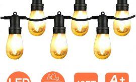 Guirnalda de 15 bombillas Luces vintage led, 15 unidades, 15 metros, IP65 por 29,59€ antes 36,99€.