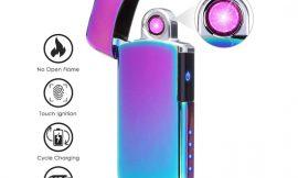 Mechero eléctrico sin llama Nasum, recargable por USB por 11,19€ en dos colores.