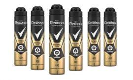 ¡Chollo! Pack de 6 Desodorantes Rexona Antitranspirante Edition Laliga 200ml sólo 9,80€