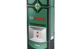 Detector de profundidad, cables y tuberías Bosch Truvo por 36,22€.