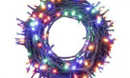 Cadena de luces led multicolor para exteriores, 25 metros a mitad de precio: por 15,49€ antes 30,99€.