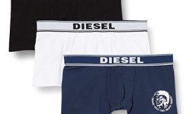 Pack de 3 boxers Diesel desde sólo 22,99 euros, varios modelos, antes 39,95 euros.