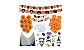 ¡50% de dto! 65 piezas de decoración para Halloween por sólo 6,84€ con este cupón descuento