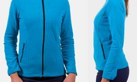 Forro polar Wheeler Izas para Mujer en diferentes colores por 16,99€.