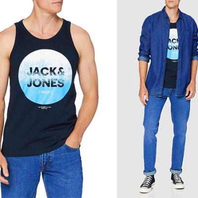 Camiseta de tirantes Jack and Jones para hombre por sólo 4,99€.
