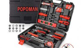 Maletín de herramientas Teccpo/Popoman 102 piezas por 25,39€.