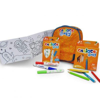¡Chollo! Mochila Baby Carioca + material escolar por sólo 12,90€ (PVP 29,90€)