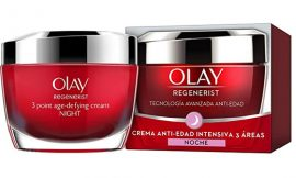 Crema de noche hidratante Anti-Edad Reafirmante Olay, 50ml por 15,95€.