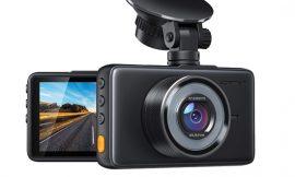 Dash Cam Apeman C450, Full HD, 170º ángulo con WDR, visión nocturna, G sensor, monitor de aparcamiento por 25,99€ antes 39,99€.