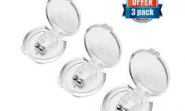 3 dilatadores nasales de silicona médica anti ronquidos por 4,19€.