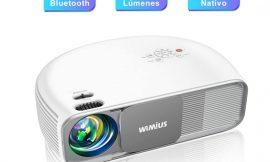 Proyector WiMiUS S4, 300″, 7000 Lúmenes, Full HD 1920x1080P soporte 4K, bluetooth 5.0 por 154,08€ antes 239,08€.