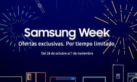 Samsung week: Una semana de ofertas exclusivas en smartphones y electrodomésticos