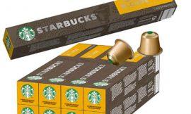 80 cápsulas de café Starbucks Blonde Espresso Roast compatible con cafeteras Nespresso y otras variedades por sólo 20,66€.