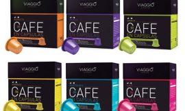 Surtido de 60 cápsulas de café Viaggio Espresso compatibles con cafeteras Nespresso por 14,16€.