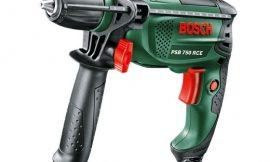 Taladro de percusión Bosch 800W con tope de profundidad, empuñadura adicional y maletín de transporte por 65,89€ antes 97,00€.