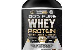 Whey Protein   Proteina whey pura con colágeno + magnesio   Tonifica y aumenta la