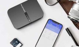 Repetidor wifi portátil Ravpower, batería/powerbank de 6700mAh, ranura para tarjetas SD/HDD y puerto USB por 39,99€.