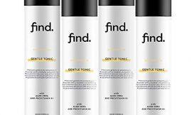 FIND – Tónico suave para piel sensible – Sin alcoho (4x200ml)