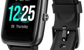 PUTARE Smartwatch, Relojes Inteligentes Impermeable IP68 para Mujer Hombre niños, Reloj de Fitness con Monitor de Frecuencia Cardíaca/Sueño/Calorías/Pasos, Pantalla Inteligente de 1.3″para iOS Android