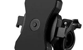 Soporte Bicicleta, Anti Vibración Soporte Movil Bici Montaña con 360° Rotación para Moto Bici, Universal Manillar Compatible con iPhone 11 Pro Max/11 Pro/11/X/8, Samsung y 4,0″-6,5″ Móvil