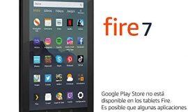 Tablet Fire 7, pantalla de 7», 16 GB (Negro) – Con publicidad