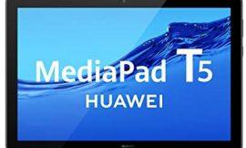 HUAWEI MediaPad T5 – Tablet de 10.1″ FullHD IPS (WiFi, Procesador Octa-Core Kirin 659, 2GB de RAM, 16GB de Memoria Interna), SATA, Android 8.0, Color Negro