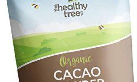 Cacao Crudo Orgánico en Polvo de TheHealthyTree Company para Yogur