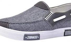 Zapatos de Lona Hombre Vestir Casual Zapatillas Deportivas Running Sneakers Corriendo Transpirable Cómodos Suaves y Livianos Calzado 39-44 riou