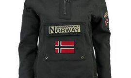 Geographical Norway Sudadera Mujer GYMCLASS B Gris Oscuro M