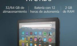 Tablet Fire HD 8, pantalla HD de 8 pulgadas, 32 GB (Negro) – Con publicidad