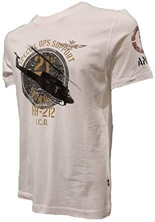 En este momento estás viendo Aeronáutica Militar TS1730 – Camiseta para hombre, color blanco