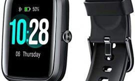 Arbily Reloj Inteligente Pantalla Táctil Completa Pulsera de Actividad Smartwatch Mujer Hombre Niño Reloj Deportivo a Prueba de Nadar Impermeable Podómetro Monitor de Sueño para iOS Android (Negro)