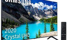Samsung Crystal UHD 2020 65TU8005 – Smart TV de 65″ con Resolución 4K, HDR 10+, Crystal Display, Procesador 4K, PurColor, Sonido Inteligente, One Remote Control y Asistentes de Voz Integrados