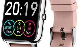 """Motast Smartwatch, Reloj Inteligente Mujer Impermeable IP68, Pantalla TFT de 1,4"""", Pulsera Actividad con Monitor de Sueño Contador, Pulsómetro, Pulsera de Actividad Inteligente para con iOS y Android"""