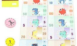 Fajiabao Juegos de rol Juguetes Monedas Monedas Tarjeta de crédito Accesorios para Juguetes