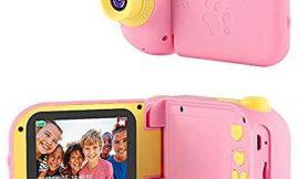 TekHome Mejores Juguetes Niña 4 5 6 7 Años, 2020 Regalos Navidad Cumpleaños Originales Niñas 3-10 Años | 12MP Cámara de Fotos para Niñas con 5 Juegos | 1080P Cámara Digital con 32GB Tarjeta SD | Rosa.